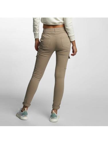 DEF Damen Skinny Jeans Luisa in beige