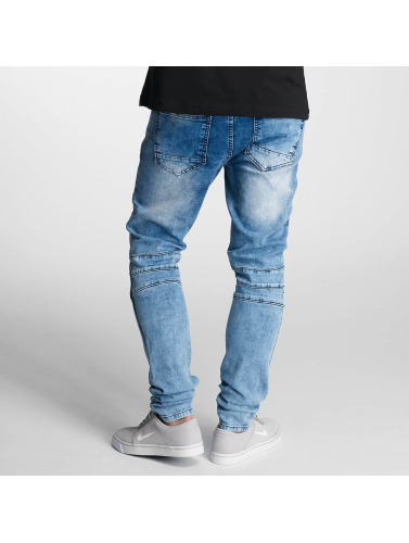 DEF Herren Skinny Jeans Hamza in blau