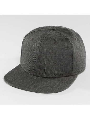 DEF Snapback Cap Basic in grau