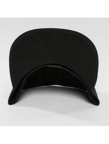 DEF Snapback Cap Basic in schwarz
