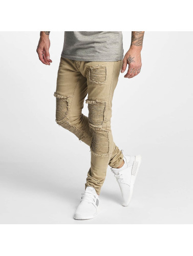 DEF Herren Straight Fit Jeans Monaco in beige
