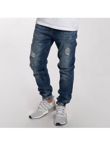 DEF Herren Straight Fit Jeans Lynel in blau