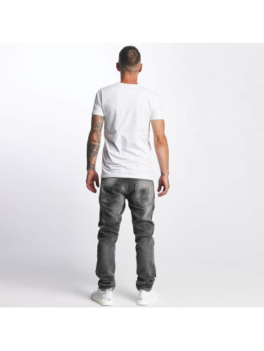 DEF Herren Straight Fit Jeans World in grau