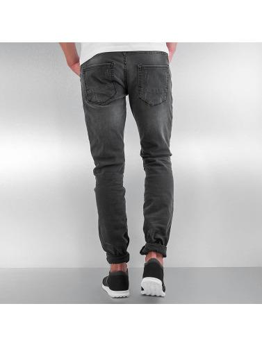 DEF Herren Straight Fit Jeans Berlin in grau