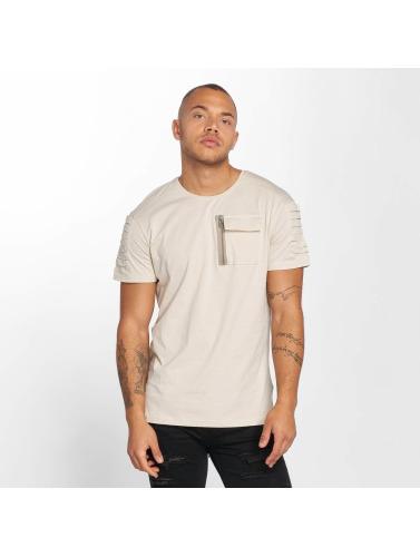 DEF Herren T-Shirt Leats in beige