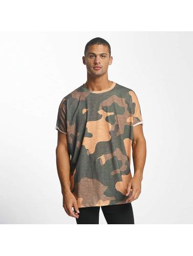 DEF Herren T-Shirt Miguel Pablo Oversize in camouflage