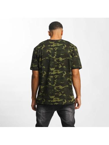 DEF Herren T-Shirt Camo in camouflage