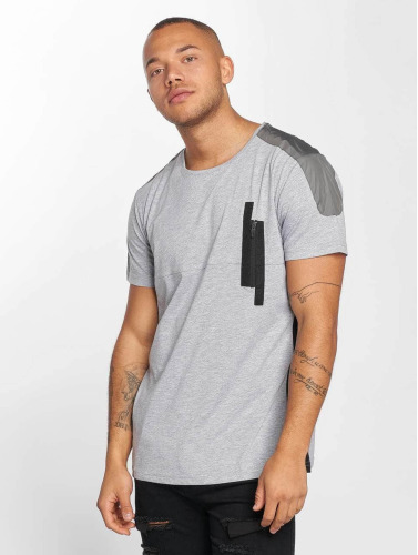 DEF Herren T-Shirt Shrine in grau