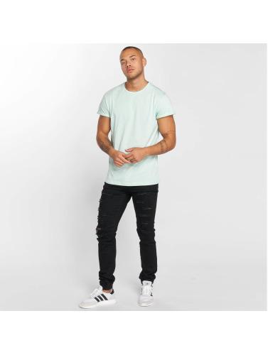 DEF Herren T-Shirt Basic in grün