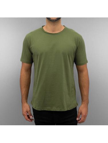 DEF Herren T-Shirt Basic in olive