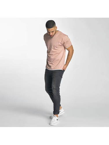 DEF Herren T-Shirt Basic in rosa
