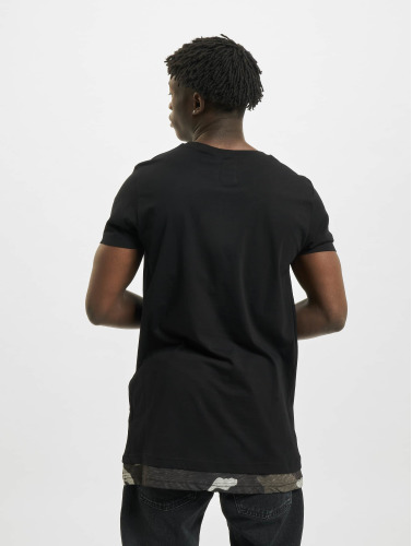 Def Hommes T-shirt Mimo En Noir