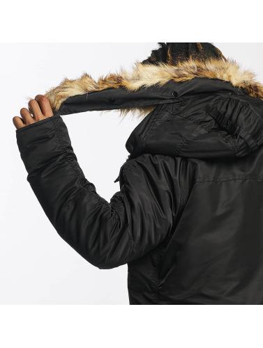 DEF Herren Winterjacke Sondre in schwarz