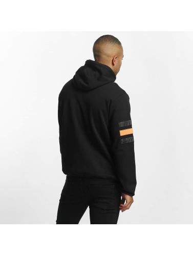 DEF Herren Zip Hoodie Cool in schwarz