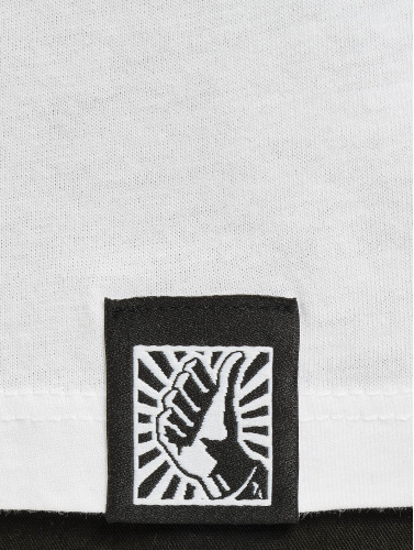 DefShop Hombres Camiseta Art Of Now BAYS in blanco