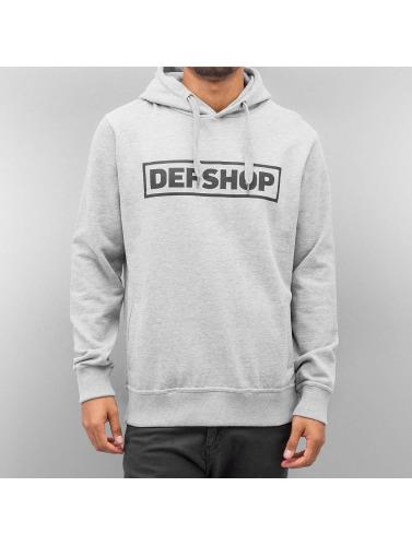DefShop Herren Hoody Logo in grau