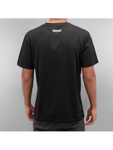 DefShop Herren T-Shirt Logo in schwarz