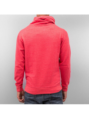Dehash Herren Pullover Turtleneck in rot