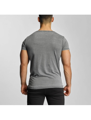 Devilsfruit Herren T-Shirt Basic in grau