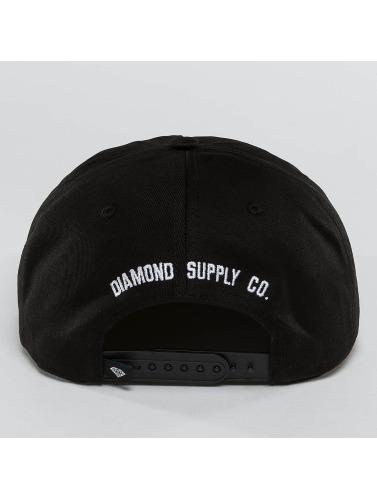 Diamond Snapback Cap I Hate School in schwarz