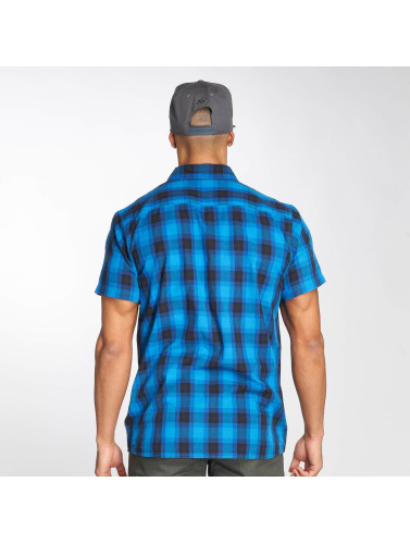 Dickies Hombres Camisa Bryson in azul