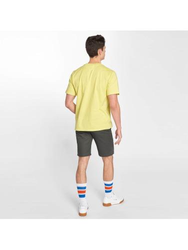 Dickies Hombres Camiseta Horseshoe in amarillo