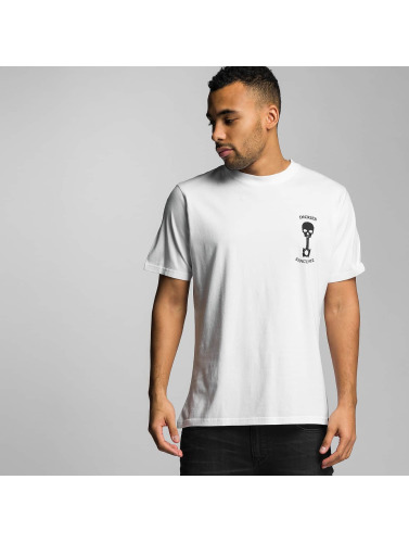 Dickies Hombres Camiseta Turrell in blanco