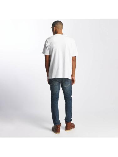 Dickies Hombres Camiseta Frackville in blanco
