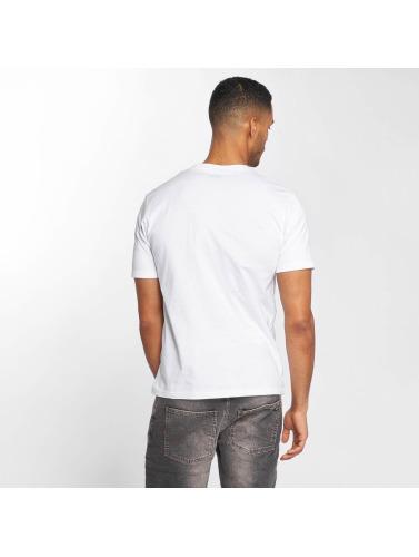 Dickies Hombres Camiseta Johnson City in blanco