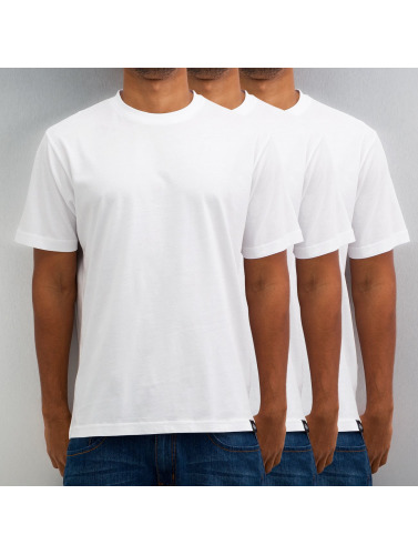 Dickies Hombres Camiseta 3er-Pack in blanco