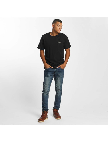 Dickies Hombres Camiseta Laurelton in negro