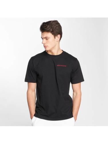 Dickies Hombres Camiseta Midfield in negro