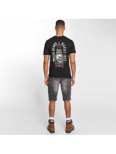 Dickies Hombres Camiseta Roanoke in negro