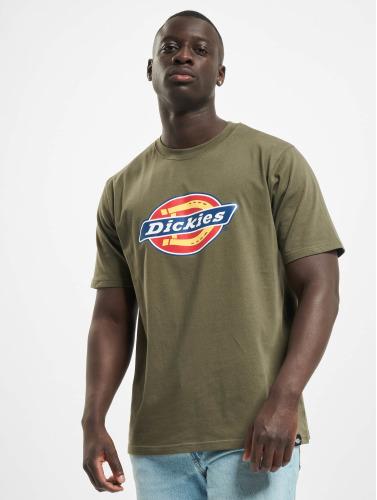 Dickies Hombres Camiseta Horseshoe in oliva