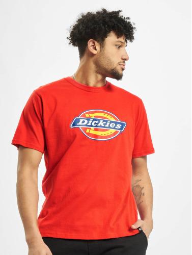 Dickies Hombres Camiseta Horseshoe Regular in rojo