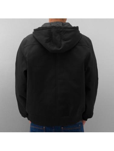 Dickies Hombres Chaqueta de invierno Rigid Duck Hooded in negro