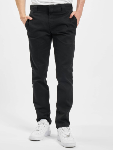 Dickies Herren Chino Slim Fit Work in schwarz