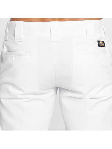 Dickies Herren Chino Slim Straight Work in weiß