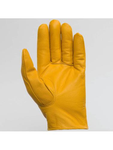 Dickies Herren Handschuhe Lined Leather in gelb