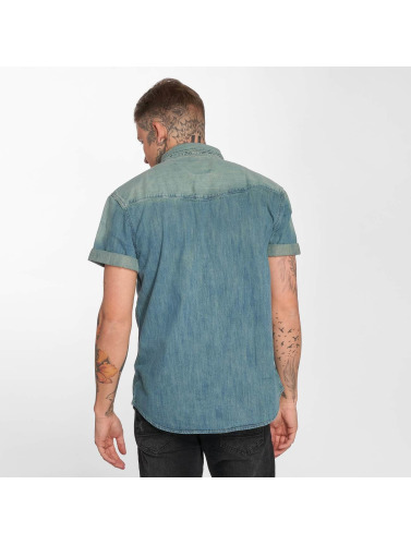 Dickies Herren Hemd Morro Bay in blau