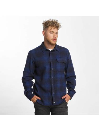 Dickies Herren Hemd Ivyland in blau Freiraum Für Verkauf I0LcY