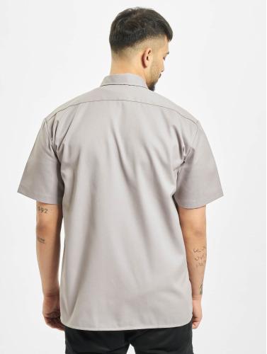 Dickies Herren Hemd Shorts Sleeve Work in grau