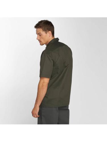 Dickies Herren Hemd Shorts Sleeve Work in olive