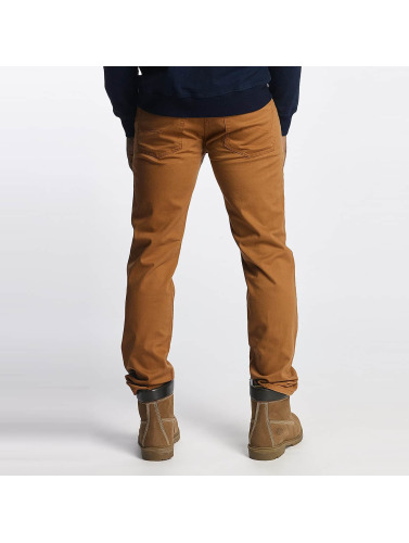 Dickies Hombres Jeans ajustado Mens Flex Tapered in marrón