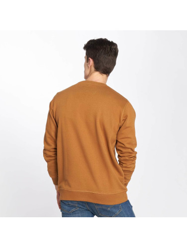 Dickies Hombres Jersey Harrison in marrón