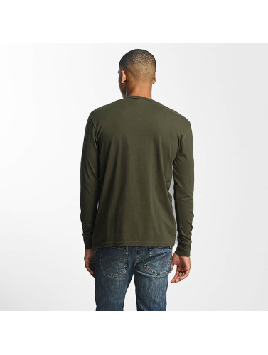 Dickies Herren Longsleeve Pipersville in olive