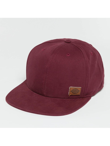 Dickies Snapback Cap Minnesota in rot