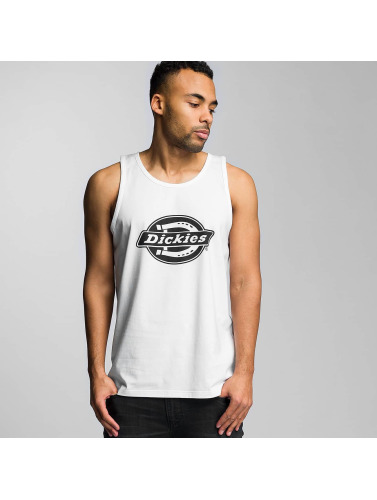 Dickies Hombres Tank Tops HS One Vest in blanco