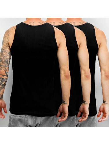 Dickies Herren Tank Tops Proof 3er-Pack in schwarz