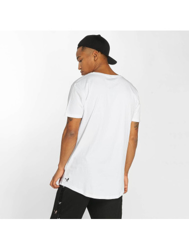 Distorted People Hombres Camiseta People Grand in blanco